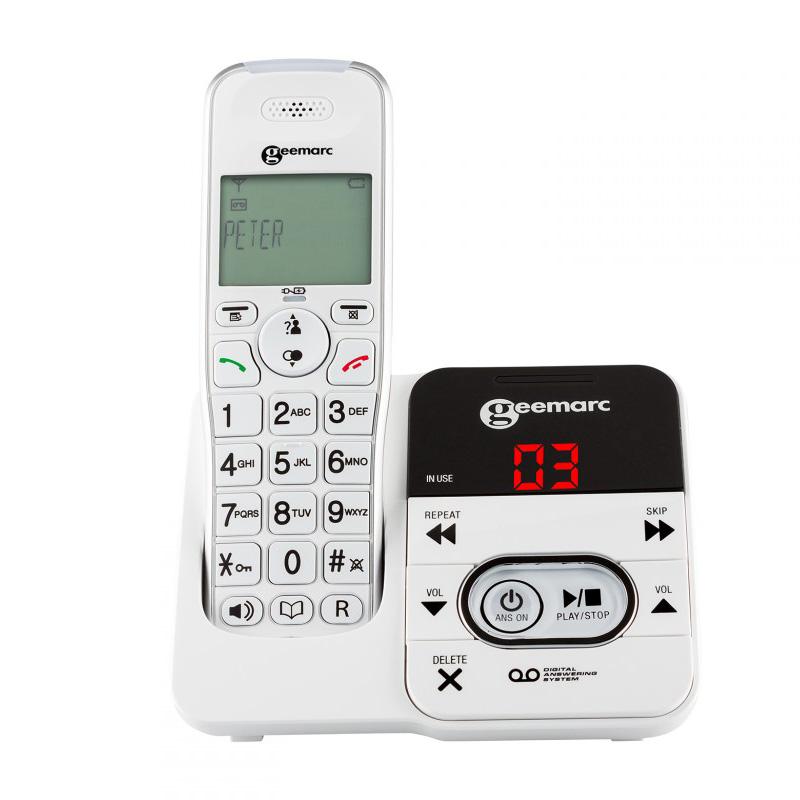 geemarc amplidect 295 schnurlostelefon mit. Black Bedroom Furniture Sets. Home Design Ideas