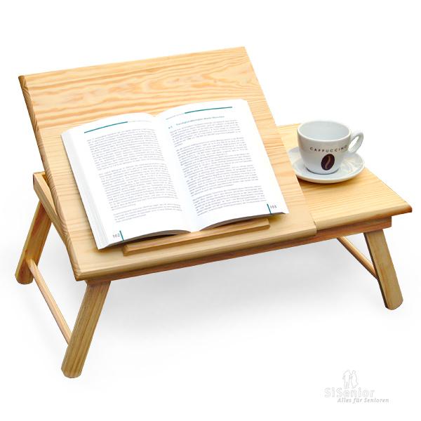lesetablett mit ablagefl che lesehilfen. Black Bedroom Furniture Sets. Home Design Ideas