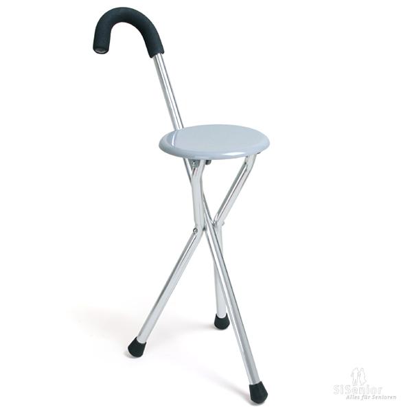 gehstock mit sitz gehst cke gehhilfen und zubeh r f r. Black Bedroom Furniture Sets. Home Design Ideas