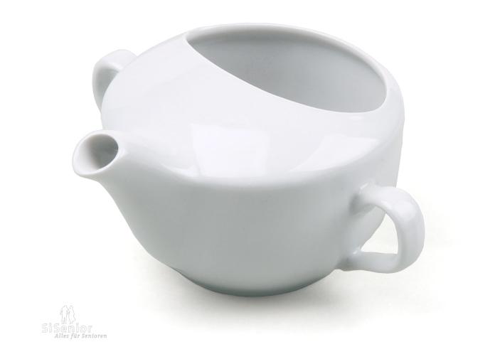 schnabeltasse aus porzellan trinkhilfe schnabelbecher aus keramik ebay. Black Bedroom Furniture Sets. Home Design Ideas